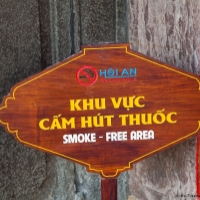 Interdiction de fumer... - Hoi An