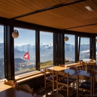 Restaurant panoramique tournant - Leysin