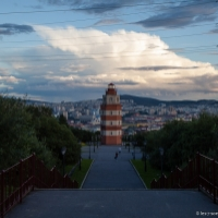Monument phare - Mourmansk