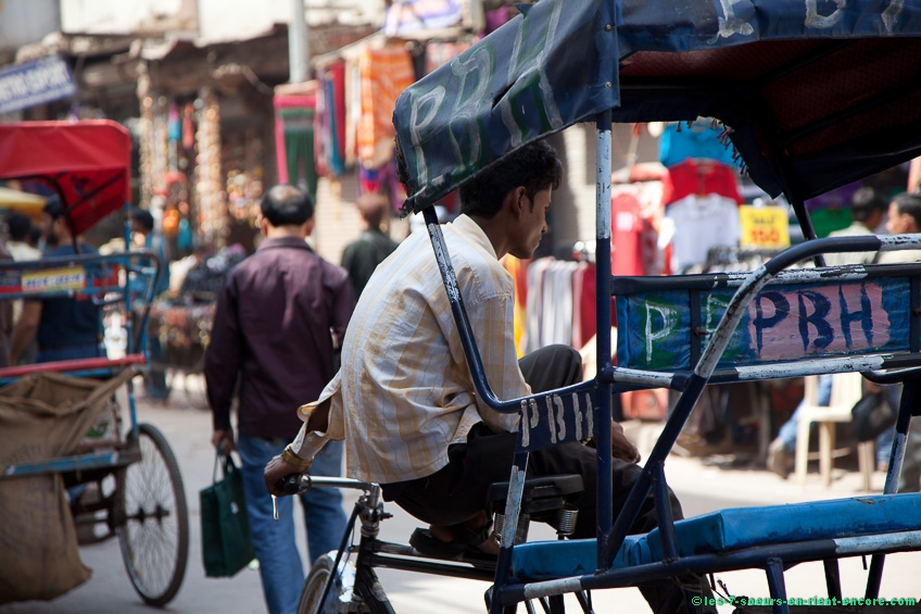 Conducteur de tricycle - Delhi
